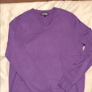 Express Men's V Neck sweater